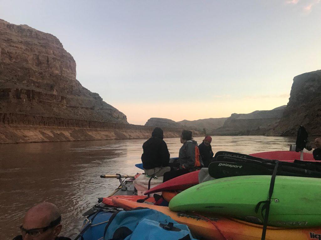 Uscita dal Grand Canyon